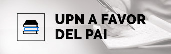 UPN a favor del PAI