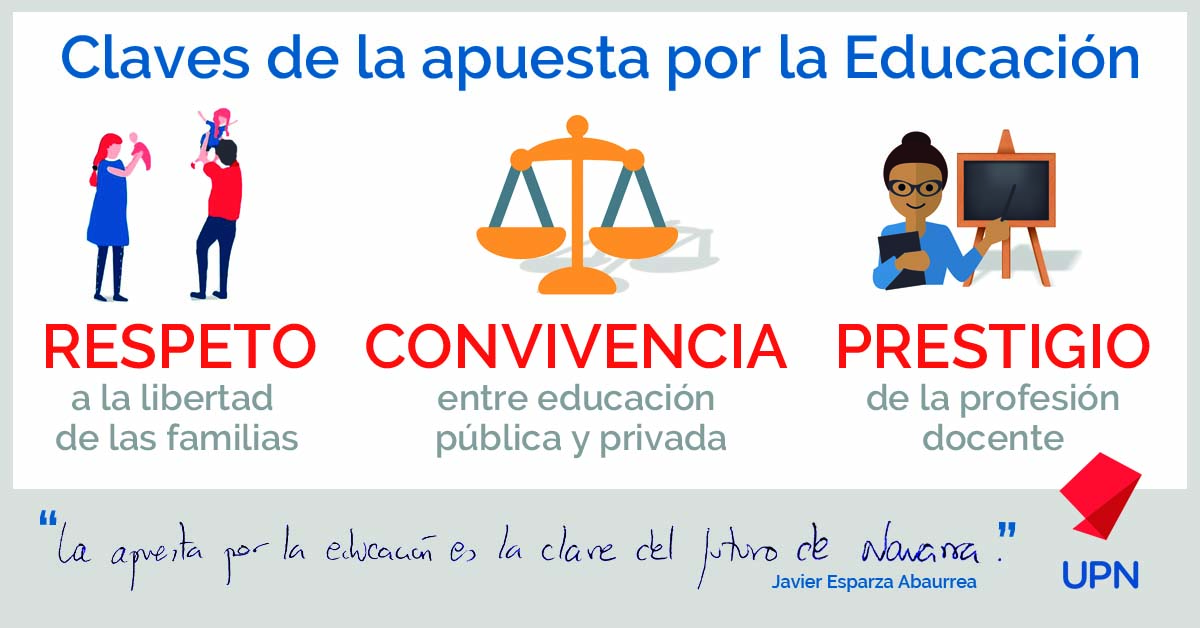 UPN apuesta por la educación