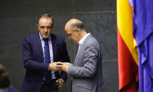 Presupuestos enmiendas Unión del Pueblo Navarro